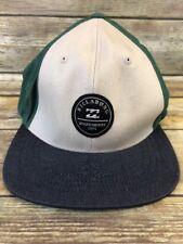 Billabong Color Block Trucker Hat Patch Baseball Cap Boardshorts Urban Snapback