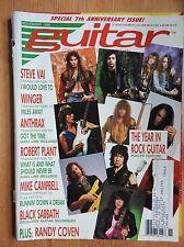 Guitar Magazine - Nov 1990 Randy Coven Robert Plant Black Sabbath