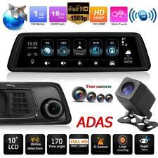 Phisung V9 4G WiFi 1296P espejo retrovisor del coche DVR GPS Dash Cam+4 cámaras