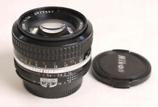 Nikon 50mm F1.4 AI Nikkor Lens - EX++ Cosmetics/Slight Haze