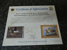 17294 Rw74 Richard Clifton Jds-15 Paul Willey 2007-08 Ring Necked Duck A Wigeon