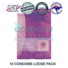 10 x Glyde Newest Latest FC2 Female Condoms Femidom Female Condom