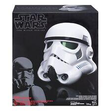 The Black Series Imperial Stormtrooper Electronic Voice Changer Helmet Trooper