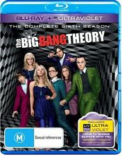 THE BIG BANG THEORY - SEASON 6, THE COMPLETE (2 BLU-RAY SET) NEW!!! SEALED!!!