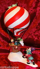 """Department 56.North Pole.Acc.""""Dash Away Delivery"""".Hot Air Balloon.New"""