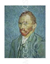 """VAN GOGH VINCENT - SELF PORTRAIT - ART PRINT POSTER 14"""" X 11"""" (430)"""