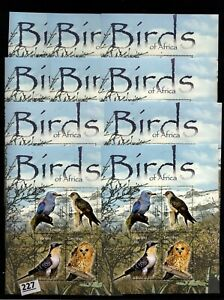 # 10X LESOTHO - MNH - BIRDS - OWL