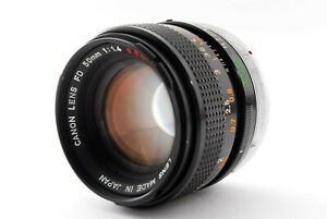 Canon FD 50mm f1.4 s.s.c. ssc MF Standard Prime Lens From Japan #834045