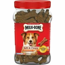 Milk-Bone Soft and Chewy Chicken Bones Treats for Dogs - 25oz