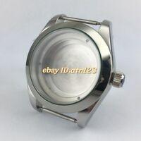40mm Stainless steel Watch Case fit Miyota 8205/8215,ETA 2836,Mingzhu 2813/3804