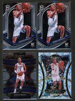 2019-20 Darius Bazley Rookie Lot. Prizm, Spectra, Select SSP. Rare. 4 cards