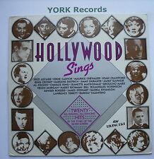 HOLLYWOOD SINGS - Various - Excellent Con LP Record ASV Living Era AJA 5011