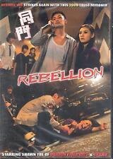 Rebellion DVD Shawn Yue of Dragon Tiger Gate and Shamo