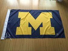 Michigan Wolverines 3x5 Feet Banner Flag University NCAA