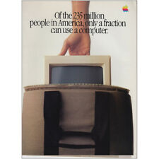 1984 Apple Macintosh: Fraction Can Use a Computer, 20 Pages Vintage Print Ad