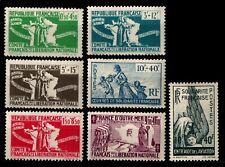 COLONIES GÉNÉRALES : 7 Timbres FRANCE LIBRE, Neufs * = Cote 18 € / Lot FRANCE