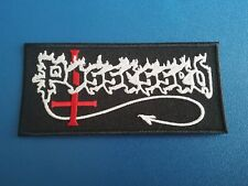 PUNK ROCK HEAVY METAL MUSIC SEW / IRON ON PATCH:- POSSESSED