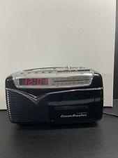 New ListingVintage radio Dream Breaker fm/am, 2 bands,cassette,alarm & clock works Great