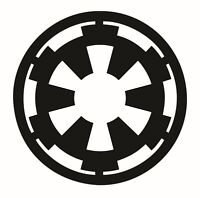 Star Wars - Empire Logo Decal / Sticker Choose Size & Color - The Force Awakens
