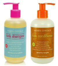 Mixed CHICKS anti-frisottis enfants Shampoing & Revitalisant CHAQUE BOUTEILLE