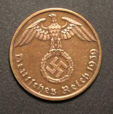 1 German WW2 Coin -1 Reichspfennig Coppper, 100% original - Buy 3 Get 1 FREE!