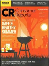 CONSUMER REPORTS July 2020  Pandemic Retirement Rescue | Credit  | UV Sunscreens
