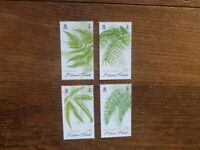 PITCAIRN Is 2016 FERNS SET 4 MINT STAMPS