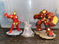 Disney Infinity Hulkbuster + Iron Man + Marvel Avengers Play Set - Free Shipping