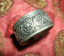 Wunderschöner Silber Herren RING aus TIBET FILIGRAN 19-22 mm