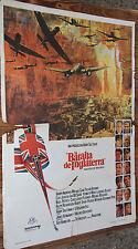 Used - Cartel de Cine  LA BATALLA DE INGLATERRA  Vintage Movie Film Poster Usado