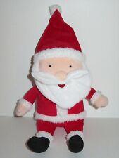 "Kohls Cares for Kids Santa Claus Plush Doll Stuffed Animal Toy Christmas 12"" Red"