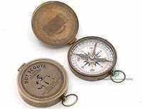 Pocket Compass, Brass Compass Boy Scouts Compass, Eagle Scout Compass