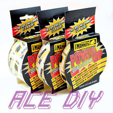 Mammoth Tape Everbuild Powerful Grip Double Sided Carpet Sellotape Glue Adhesive