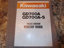 KAWASAKI GD700A GD700A-S GENERATOR SERVICE MANUAL