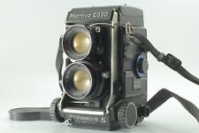 Mamiya C330 Pro S TLR Film Camera 105mm f3.5 DS Blue dot Lens From Japan 172