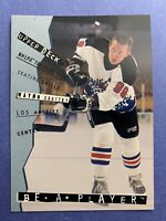 1995 Upper Deck Be A Player NHLPA Training Tips Wayne Gretzky Los Angeles Kings