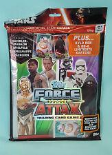 Star Wars Force Attax Erwachen der Macht Starterpack Sammelmappe Mappe