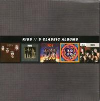 Kiss- 5 Classic Albums - Box Set of 5 Classics CD's - New Sealed