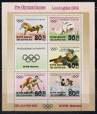 Korea.. 1983  Sc # 2297  Olympic  Sheet of 5 + Label   MNH   (3-6482)