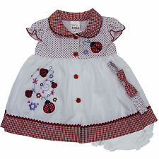 newborn infant baby girl dress 3 piece set clothing size 3 6 9 12 18 24 months