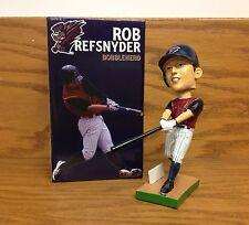 Rob Refsnyder Scranton Railriders NY Yankees Prospect 2015 Bobble Bobblehead SGA