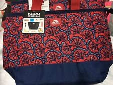 IGLOO Insulated Cooler Bag Insulated Holds Up To 8 Cans New!!