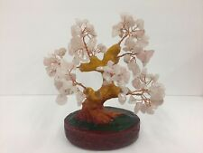 6 Inch pink Crystal Money Tree Feng Shui Natural Amethyst Quartz Gem Stone