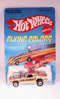 HOT WHEELS FLYING COLORS RODGER DODGER GOLD CHROME IN BLISTERPACK BP UNPUNCHED