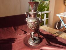 important vase bipatine bronze indochine