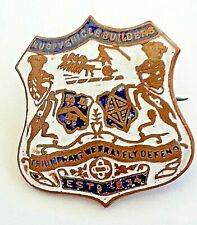 More details for fattorini badge national union vehicle builders. free post