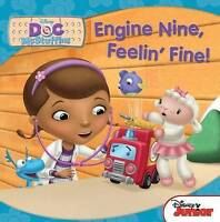 """AS NEW"" Disney Doc McStuffins: Engine Nine, Feelin' Fine, Parragon, Book"