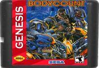 Body Count (1994) 16 Bit Game Card For Sega Genesis System NTSC-U/C