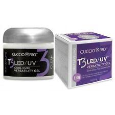 Cuccio T3 LED/UV Self Leveling Versatility Gel 1oz - Clear