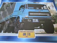 Super Trucks Frontlenker Italien OM 170, 1974
